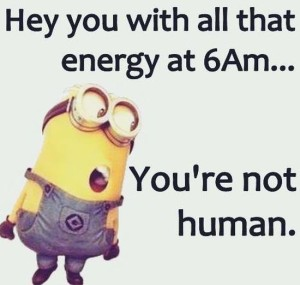 Hilarious Morning Minion Memes