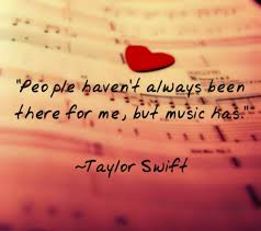 Inspirational Music Quotes by Taylor Swift Images