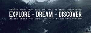 Inspiring Travel Quotes Facebook Cover Photos