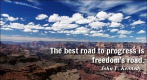 John Kennedy Road Quotes
