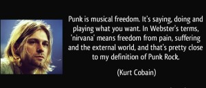 Kurt Cobain Music Quotes IMages