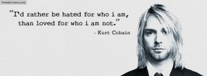 Kurt Cobain Quotes Facebook Covers