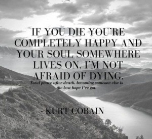 Kurt Cobain Quotes on Death IMages