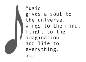 Music Quotes by Plato Images