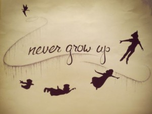 Never Grow Up Quotes Images
