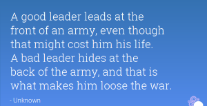 Quotes about Bad Leadership Images