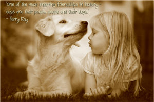 Quotes about Dogs and Children