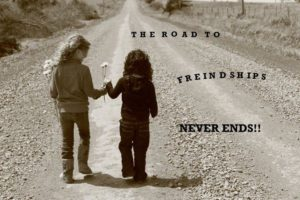 Road to friendship Quotes