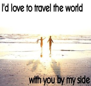 Romantic Travel with Love Quotes