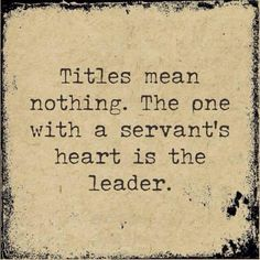 Servant and Leader Quotes Images