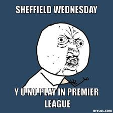 Sheffield Wednesday Meme