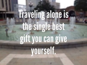 Travel Alone Quotes and Images