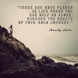 Traveling Alone Quotes