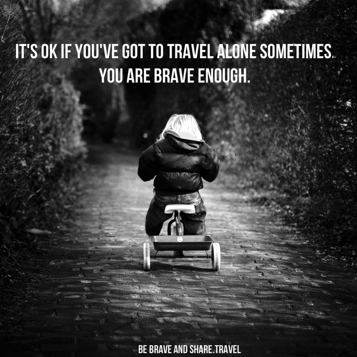 Travel Alone Quotes Interesting Quotes For Travelling Alone The Random Vibez