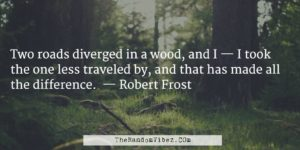 two roads Quotes IMages