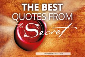 Best Quotes from The Secret