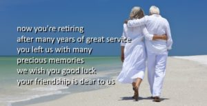 Good Luck on Your Retirement Wishes