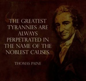 Historic Quotes by Thomas Paine