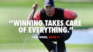 quotes for athletes golf by Tiger Woods