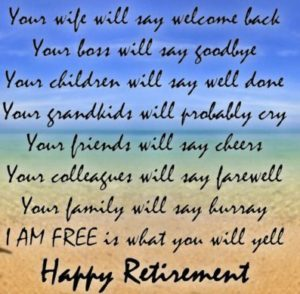 Retirement Wishes for Father