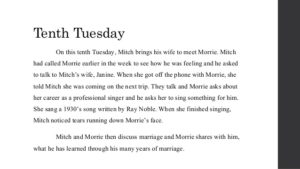 Tuesday with Morrie Quotes 10