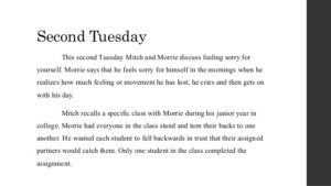 Tuesdays with Morrie Quotes 2
