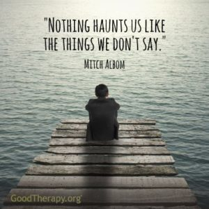 Tuesdays with Morrie Quotes about Forgiveness