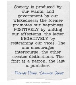 quotes from common sense by thomas paine