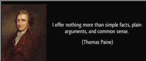 thomas paine quotes from common sense