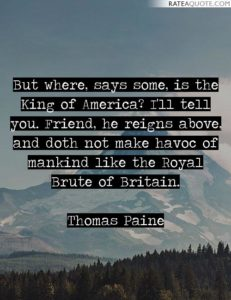 thomas paine quotes from common sense.
