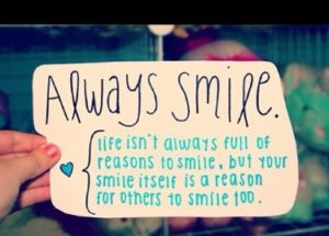Always Smile Quotes