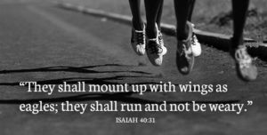 Inspirational Bible Verses for runners