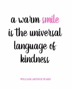 Inspirational Quotes about Smiling