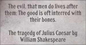Julius Caesar Shakespeare Quotes