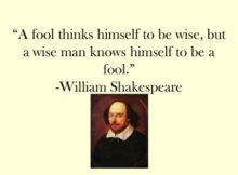 Most Quoted Shakespeare Lines
