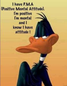 Positive Thinking Funny Q'uotes