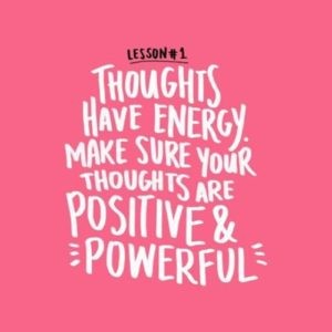 Positive Thinking Picture Quotes