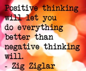 Positive Thinking Quotes for Facebook