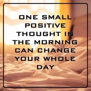 Positive Thinking Quotes of the Day