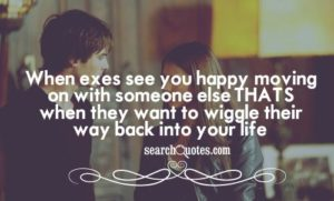 Quotes about Ex Boyfriend