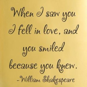 Quotes about Smiling and Love