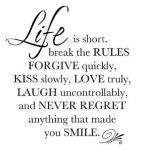 Reasons to Smile Quotes