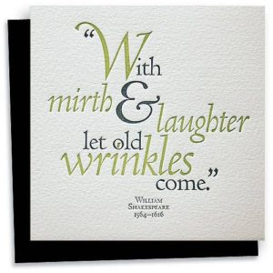 Shakespeare Birthday Quote