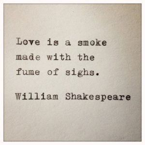Shakespeare Love Quote