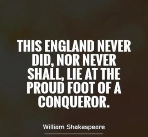 Shakespeare Quotes England