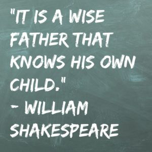 Shakespeare Quotes Father