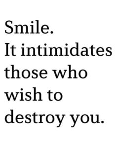 Smile Quoted
