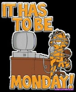 Amazing Garfield and Monday Morning Images