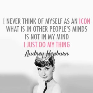 Audrey Hepburn Beauty Tips Quote