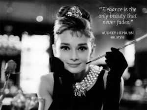Audrey Hepburn Breakfast at Tiffany's Quotes